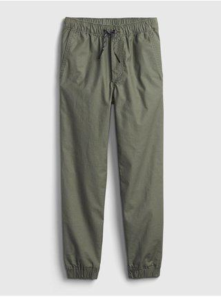 Zelené klučičí kalhoty everyday joggers