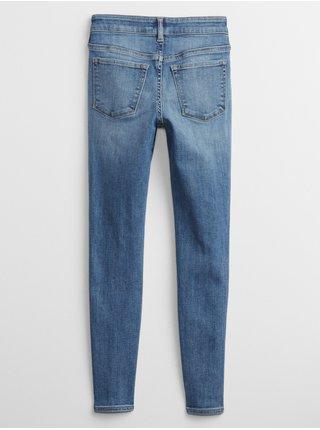 Modré holčičí džíny jeg med bas