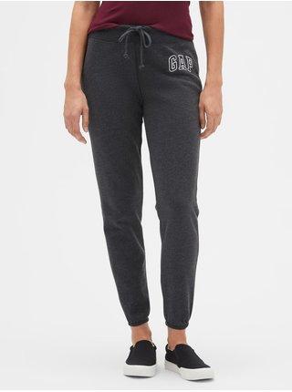 Černá dámská mikina GAP Logo arch fleece joggers