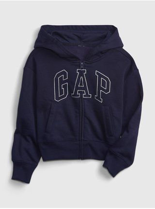 Modrá holčičí mikina GAP Logo hoodie