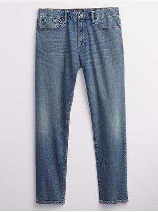 Modré pánské džíny straight taper fairfax medium