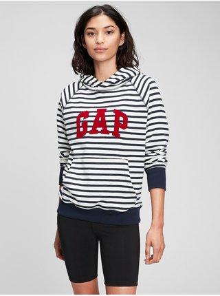 Barevná dámská mikina gap logo arch hoodie