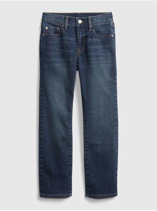 Modré klučičí džíny straight jeans with Washwell