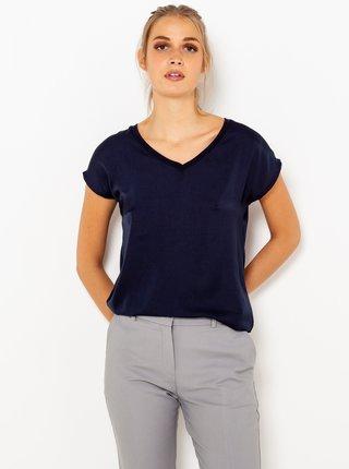Tričká s krátkym rukávom pre ženy CAMAIEU - tmavomodrá