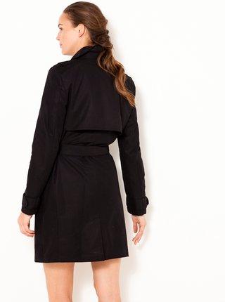 Trenčkoty a ľahké kabáty pre ženy CAMAIEU - čierna