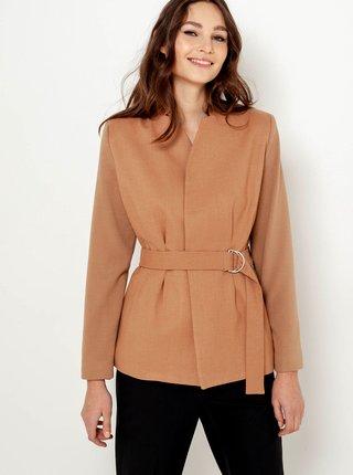 Světle hnědý kabátek CAMAIEU