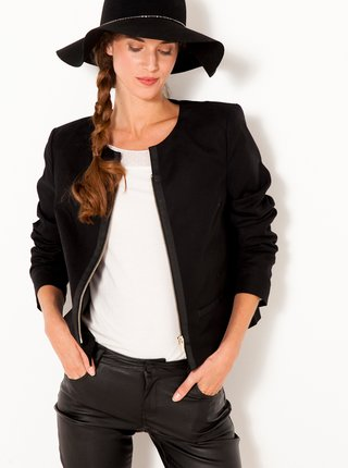 Černá bunda CAMAIEU