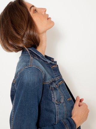 Modrá džínová bunda CAMAIEU