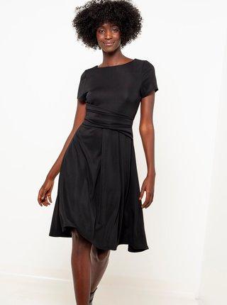 Spoločenské šaty pre ženy CAMAIEU - čierna