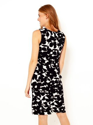 Spoločenské šaty pre ženy CAMAIEU - čierna, biela