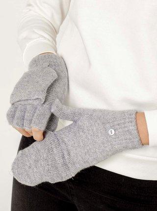 Svetlošedé rukavice CAMAIEU