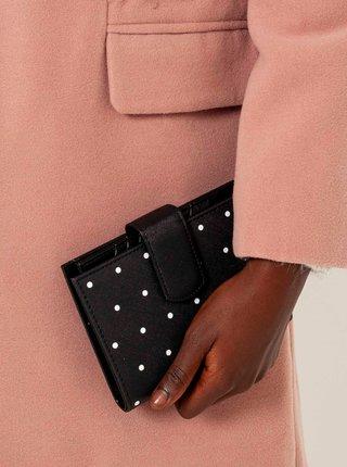 Čierna bodkovaná peňaženka CAMAIEU
