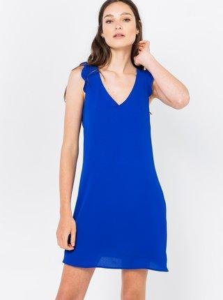 Letné a plážové šaty pre ženy CAMAIEU - modrá