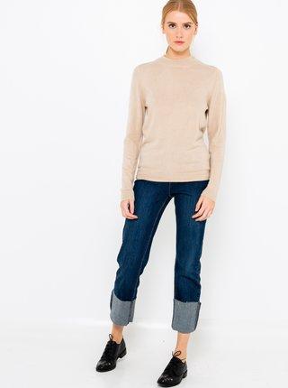 Béžový svetr CAMAIEU