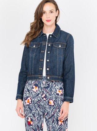 Tmavě modrá džínová bunda CAMAIEU