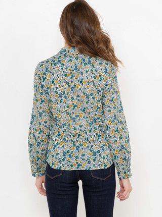 Šedá kvetovaná košeľa CAMAIEU