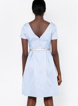 Světle modré šaty CAMAIEU