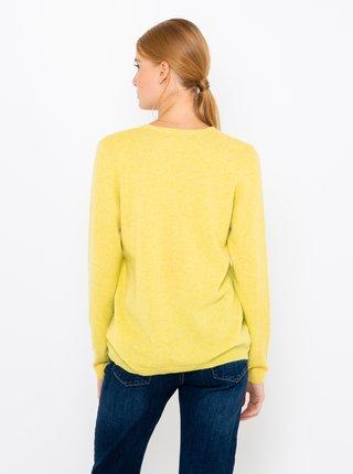 Svetre pre ženy CAMAIEU - žltá