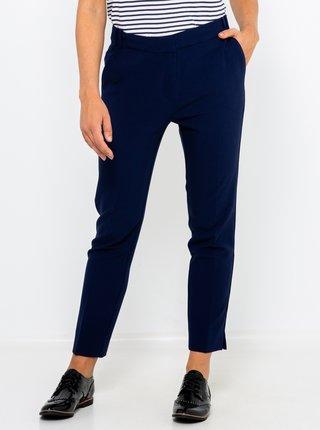 Tmavě modré zkrácené chino kalhoty CAMAIEU
