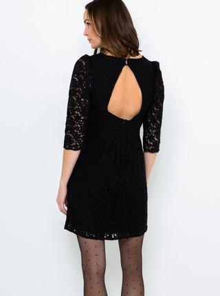 Černé krajkové šaty CAMAIEU