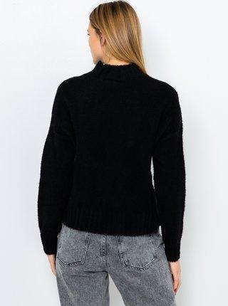 Čierny sveter s flitrami CAMAIEU