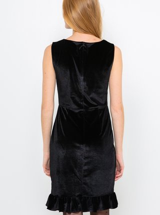 Černé sametové šaty CAMAIEU
