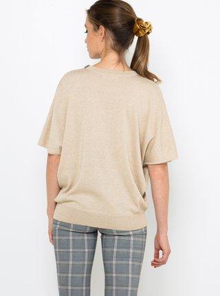 Béžové tričko CAMAIEU