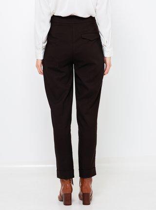 Čierne skrátené nohavice CAMAIEU
