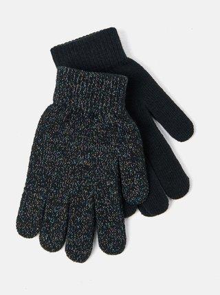 Tmavošedé rukavice CAMAIEU