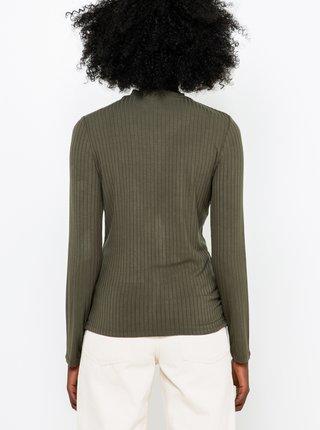 Kaki ľahký sveter CAMAIEU
