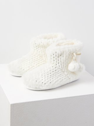 Bílá domácí obuv CAMAIEU