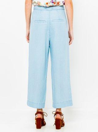 Modré široké kalhoty CAMAIEU