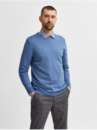 Modrý svetr Selected Homme Berg