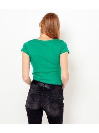 Topy a tričká pre ženy CAMAIEU - zelená