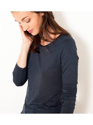Tmavě šedé tričko CAMAIEU