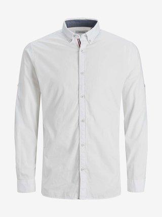 Bílá košile Jack & Jones Justin