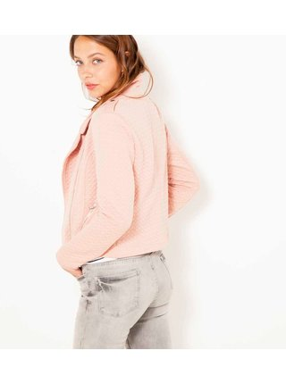 Růžová bunda CAMAIEU