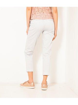 Nohavice pre ženy CAMAIEU - krémová