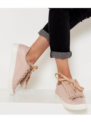 Béžová ozdoba na boty CAMAIEU