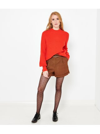 Červený sveter CAMAIEU