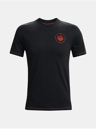 Tričko Under Armour UA Run Anywhere Short Sleeve - černá