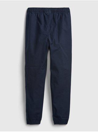 Modré klučičí kalhoty jogger