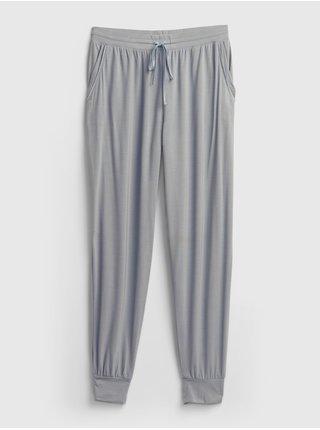 Šedé dámské pyžamové kalhoty