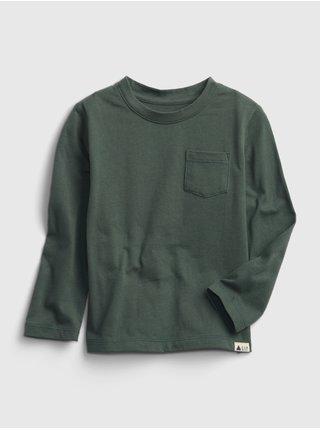 Zelené klučičí tričko z organické bavlny