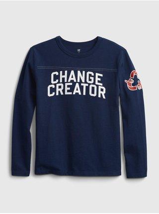 Modré klučičí tričko Change Creator