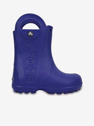 Modré detské čižmy Crocs