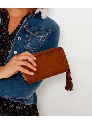 Hnedá peňaženka CAMAIEU