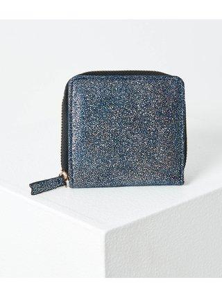 Tmavě modrá třpytivá peněženka CAMAIEU