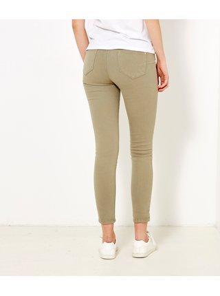 Béžové skinny fit džíny CAMAIEU