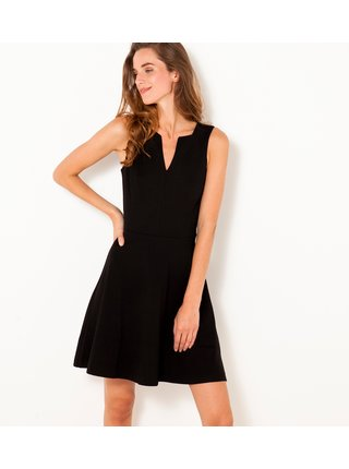 Čierne krátke šaty CAMAIEU
